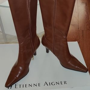 Etienne Aigner knee high boots